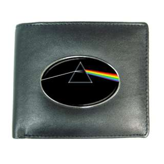 Pink Floyd Dark Side of The Moon Mens Leather Wallet C
