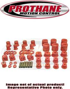 Chevrolet C5 Corvette Complete Suspension Bushing Kit Red Polyurethane