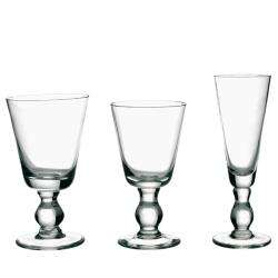La Rochere 6 piece Mouth Blown Bocage Glassware Set