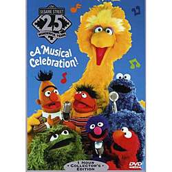Sesame Streets 25th Birthday   A Musical Celebration (DVD
