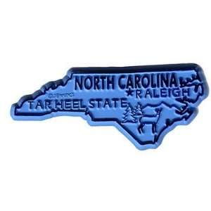 382428   North Carolina Magnet 2D 50 State Light Blue Case