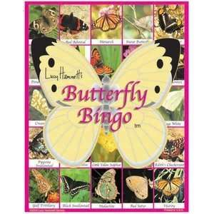 Butterfly Bingo Educational Game Toys & Games