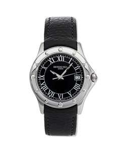 Raymond Weil Tango Mens Black Dial Watch