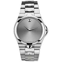 Movado Luno Mens Stainless Steel Quartz Watch