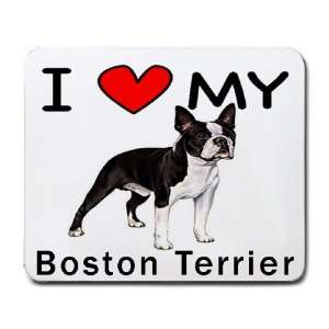 I Love My Boston Terrier