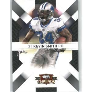 Kevin Smith   Detroit Lions   2009 Donruss Threads NFL