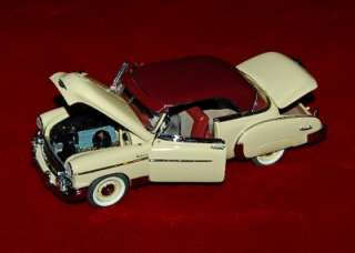 DIE CAST EXACT REPLICA 124 CHEVROLET BEL AIR 1950 AS IS/REPAIR