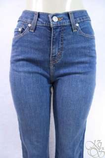 Levis Jeans 512 Perfectly Slimming Boot Cut Stone Blue Denim Womens