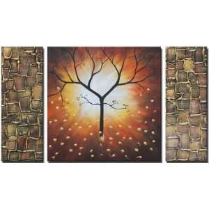 Barely Brown Hand Painted Canvas Art Oil Painting