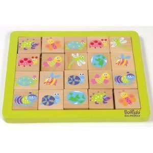 Boikido Eco Friendly Wooden Memory Game Toys & Games