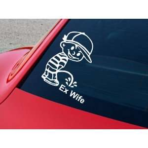 Car Decal Made of High Quality Vinyl Calvin Peeing Parent Decal 8 X 8