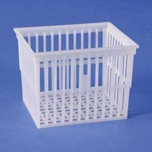 Basket,Polypropylene,Test Tube,5 3/4X4 13/16X4 1/4, Qty of