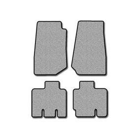 Jeep Wrangler Unlimited Touring Carpeted Custom Fit Floor Mats   4 PC