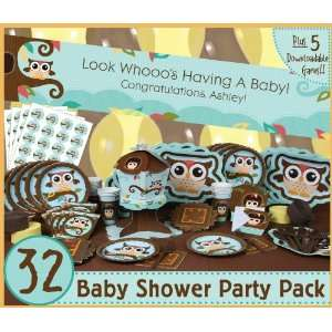 Owl   Look Whooos Having A Baby   32 Baby Shower Party