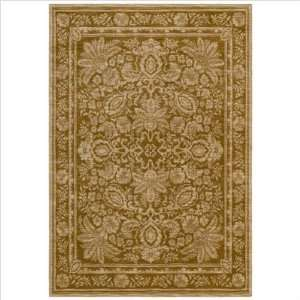 Tommy Bahama Vintage Lei Area Rug, 2.6 Feet by 7.9 Feet, Gold