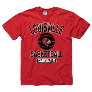 Louisville Cardinals Red Youth Ballin T Shirt