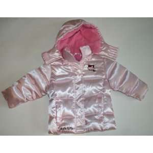 Hello Kitty Toddler Girls Winter Coat Size 2T Pink