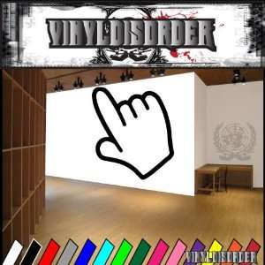 Hands Finger NS001 Vinyl Decal Wall Art Sticker Mural