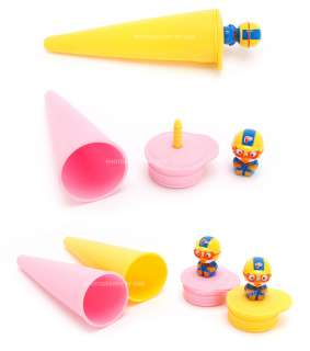 Hmall Korea Pororo children Ice stick popsicle Ice Cream Maker silicon