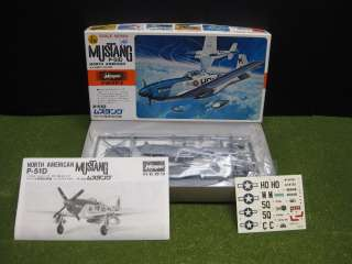 Hasegawa P 51D North American Mustang U.S Army Fighter 1/72 Model
