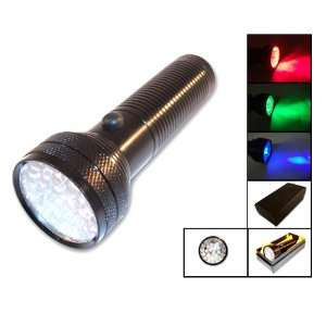 28 LED Multi color Flashlight in Gift Box (AF6001