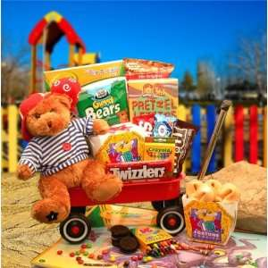 My Little Red Wagon Gourmet Gift Set Basket  GIRL  Grocery