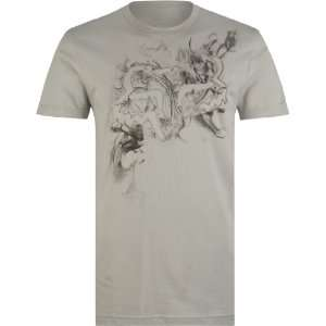 Fox Racing Nebula T Shirt   Medium/Light Grey Automotive
