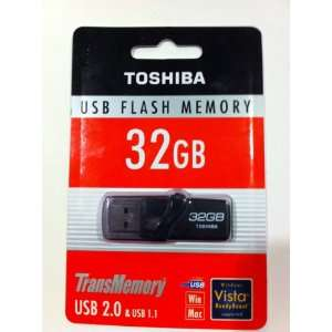 Usb toshiba flash memory drive 32GB usb 2.0 & 1.1 transmemory pen