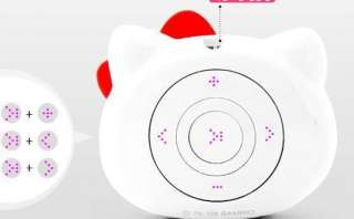 New Mini 2G 2GB Cute Hello kitty Big Face  player White
