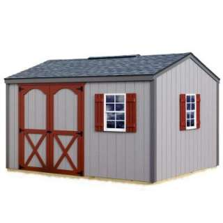 Best BarnsCypress 12 ft. x 10 ft. Wood Storage Shed Kit includes Floor