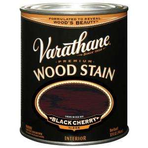 Varathane 32 oz. Black Cherry Wood Stain 241411H