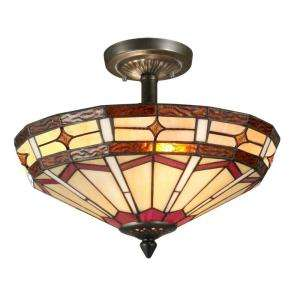 Light Flush Mount Antique Bronze Ceiling Light STH11012 at The Home