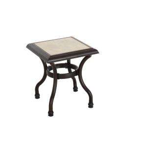Hampton Bay Andrews Patio Side Table FTS79063G
