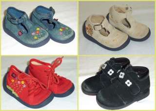 Elefanten Baby Girls Boys Boutique Shoes Lot Size 4 Euro 19