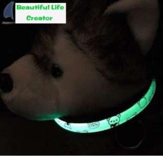 HOT NEW Pet Dog LED Light Cubs Collar Safety Flashing