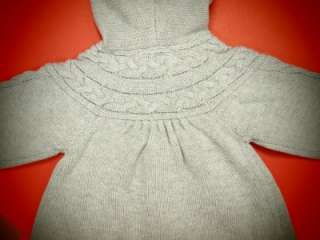 NWT BABY GIRL HOODED SWEATER CK29106 (0 24 months)