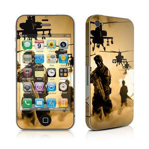 iPhone 4 Skin Cover Case Decal Faceplate Army Dops Camo