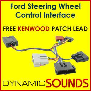 KENWOOD FORD Fiesta, Focus Steering Wheel Stalk Adaptor