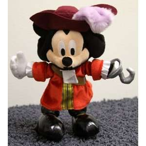 Retired Disney Peter Pan Mickey Mouse as Captain Hook