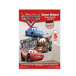 Disneys Cars Happy Birthday Add On     1626964