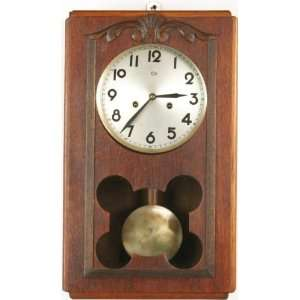 French Art Deco Wall Clock Regulator Regulateur