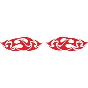 Flames Vinyl Decals Kit 12 Left and Right Car Truck Boat Pick Size And