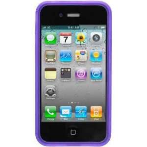 Purple Bumper Soft Tpu Skin Gel Cover Case for Apple