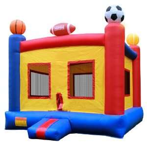 Commercial Grade Sports Bounce House with Blower from