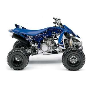 Yamaha YFZ450R Destroyer ATV Graphic Kit (Blue/White