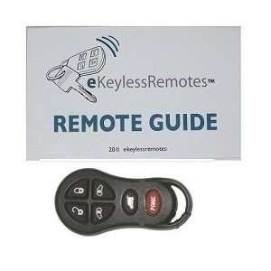 2001 2003 Chrysler Voyager Keyless Entry Remote Fob With Do