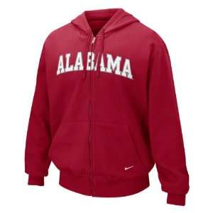 Alabama Crimson Tide Nike Youth Classic Arch Full Zip