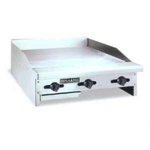 ACCG 12 12in Gas Concession Griddle Flat Grill Manual 16 Deep Plate