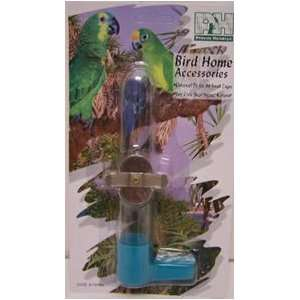 Prevue Pet Products 6in Glass Tube Bird Feeder 1 per card Assorted