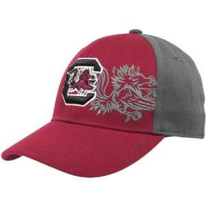 of the World South Carolina Gamecocks Garnet Gray Audible One Fit Hat